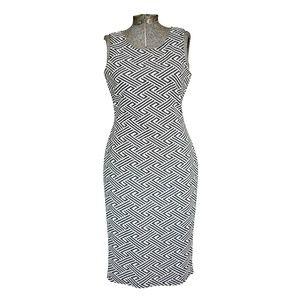 RD Style Woven Midi Bodycon Dress
